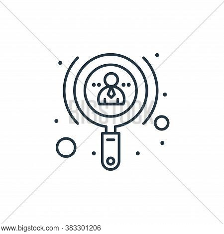 investor icon isolated on white background from seo collection. investor icon trendy and modern inve