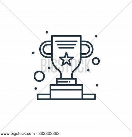 award icon isolated on white background from seo collection. award icon trendy and modern award symb