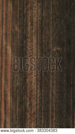 Natural wooden texture background. ebony wood.