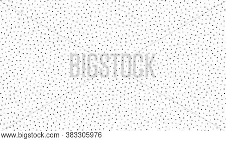 Dots Texture Background. Polka Dot Pattern. Abstract Background With Spot Elements. Dotted Decoratio
