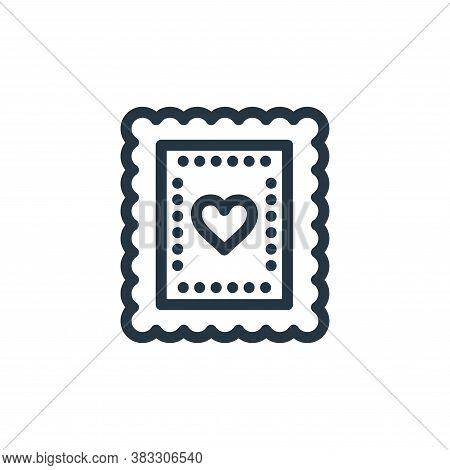 biscuit icon isolated on white background from baby shower collection. biscuit icon trendy and moder