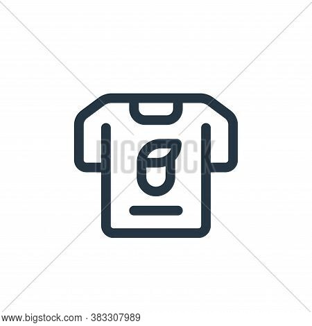 t shirt icon isolated on white background from voting elections collection. t shirt icon trendy and