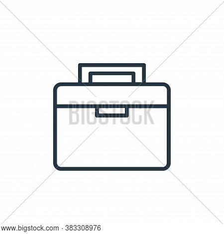 suitcase icon isolated on white background from labor day collection. suitcase icon trendy and moder