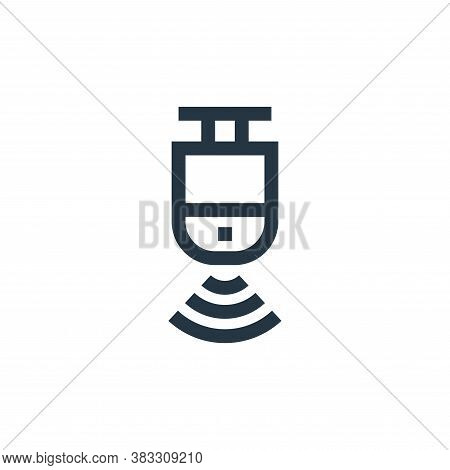 motion sensor icon isolated on white background from futuristic technology collection. motion sensor