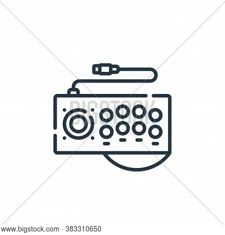 arcade icon isolated on white background from esports collection. arcade icon trendy and modern arca