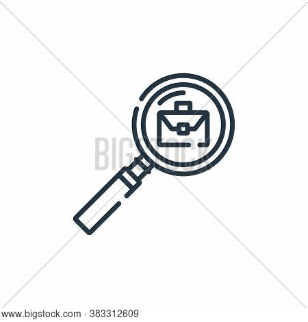vacancy icon isolated on white background from public services collection. vacancy icon trendy and m