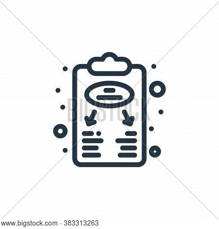 business plan icon isolated on white background from management collection. business plan icon trend