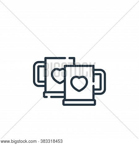 cheers icon isolated on white background from friendship collection. cheers icon trendy and modern c