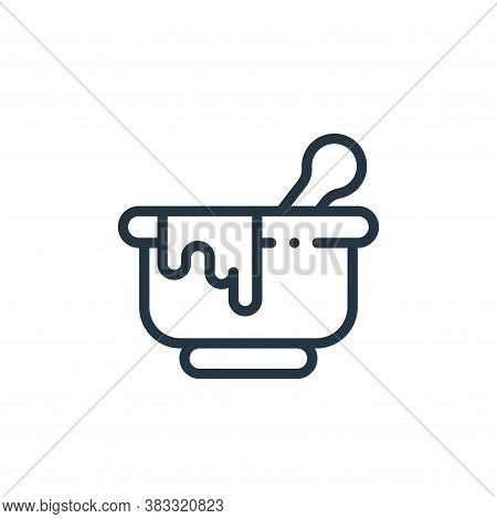 bowl icon isolated on white background from magic collection. bowl icon trendy and modern bowl symbo