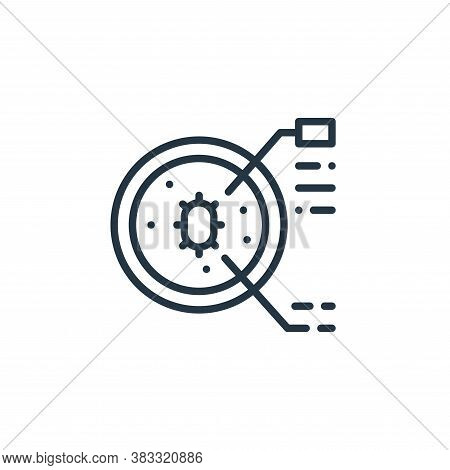 petri dish icon isolated on white background from microorganism collection. petri dish icon trendy a