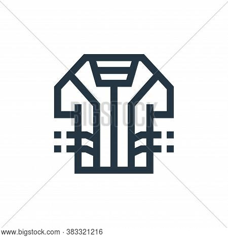 smart clothing icon isolated on white background from futuristic technology collection. smart clothi