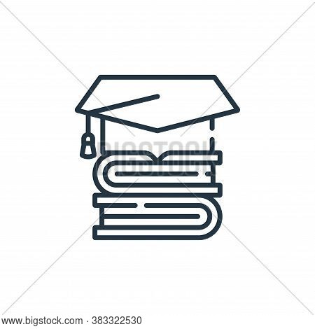 education icon isolated on white background from public services collection. education icon trendy a