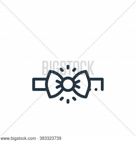 bow tie icon isolated on white background from magic collection. bow tie icon trendy and modern bow