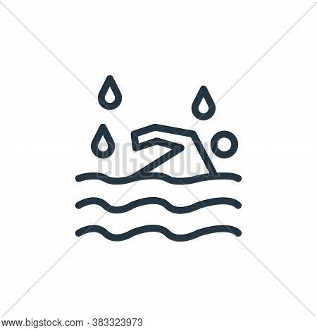 diver icon isolated on white background from water park collection. diver icon trendy and modern div