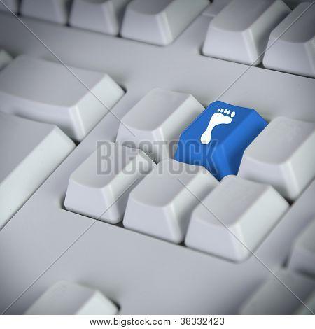 Footprint Laptop Computer