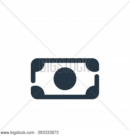 dollar icon isolated on white background from economy collection. dollar icon trendy and modern doll