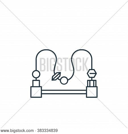 logic icon isolated on white background from kids collection. logic icon trendy and modern logic sym