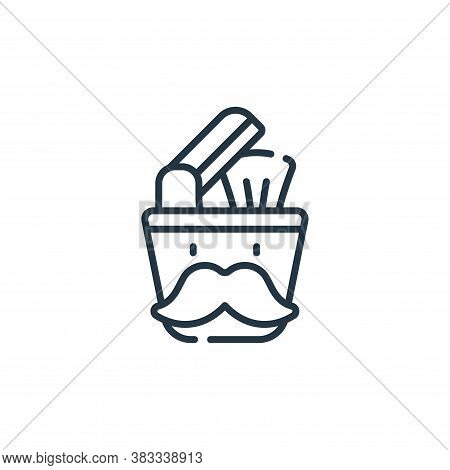 barber icon isolated on white background from barber shop collection. barber icon trendy and modern