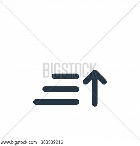 sort icon isolated on white background from ecommerce and shopping collection. sort icon trendy and