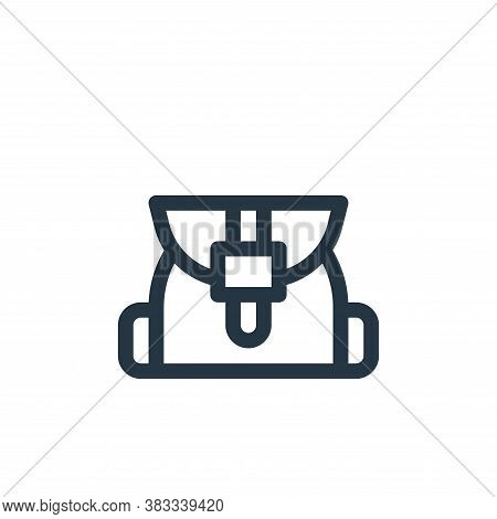 bag icon isolated on white background from videogame elements collection. bag icon trendy and modern