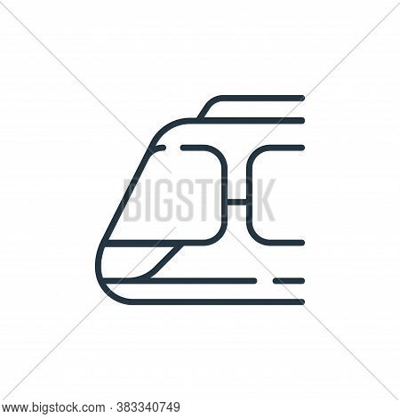 train icon isolated on white background from public transportation collection. train icon trendy and