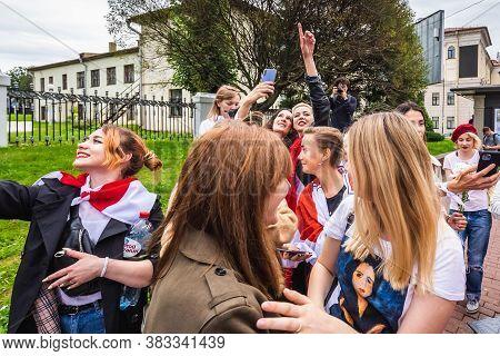 Protests In Minsk