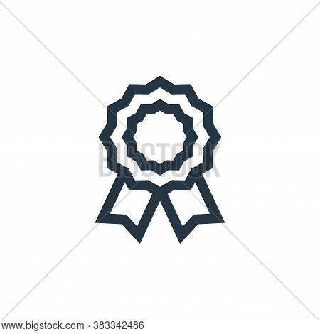 medal icon isolated on white background from customer reviews collection. medal icon trendy and mode