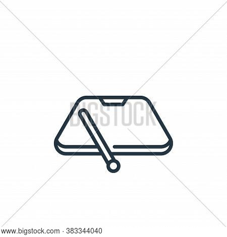 windshield icon isolated on white background from car engine collection. windshield icon trendy and