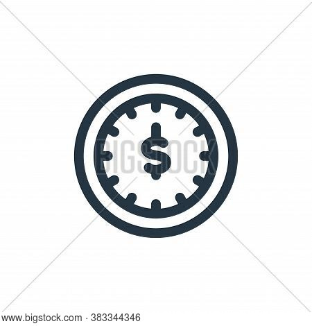 time icon isolated on white background from investment collection. time icon trendy and modern time