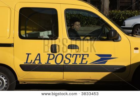 French Postal Van
