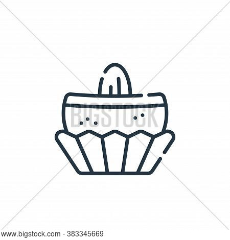 truffle icon isolated on white background from sweets and candies collection. truffle icon trendy an