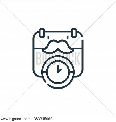appointment icon isolated on white background from barber shop collection. appointment icon trendy a