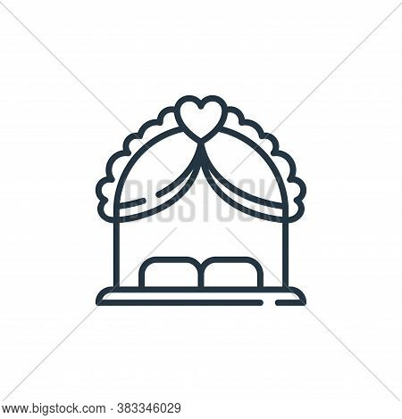 wedding arch icon isolated on white background from party and celebration collection. wedding arch i