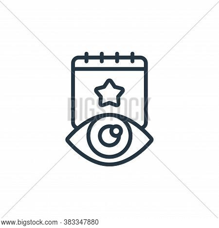 public icon isolated on white background from event management collection. public icon trendy and mo