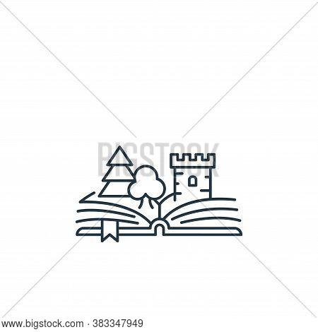 book icon isolated on white background from kids collection. book icon trendy and modern book symbol