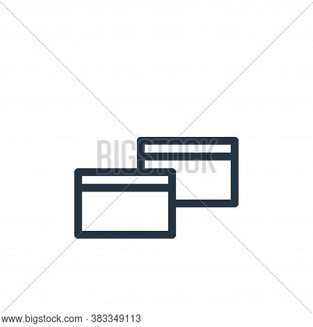 copy icon isolated on white background from business collection. copy icon trendy and modern copy sy
