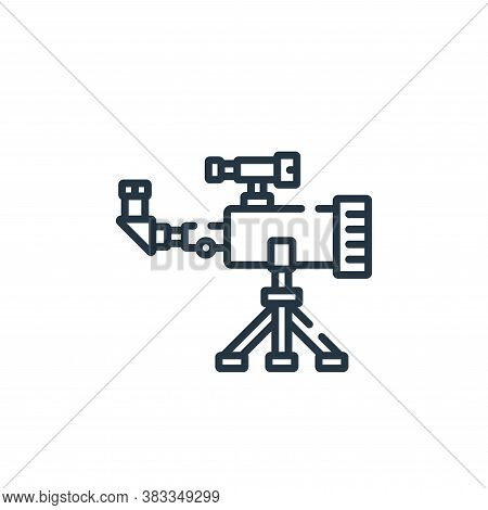 telescope icon isolated on white background from education collection. telescope icon trendy and mod