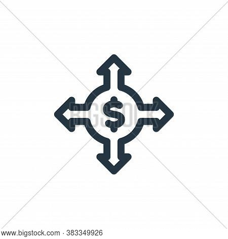choices icon isolated on white background from investment collection. choices icon trendy and modern