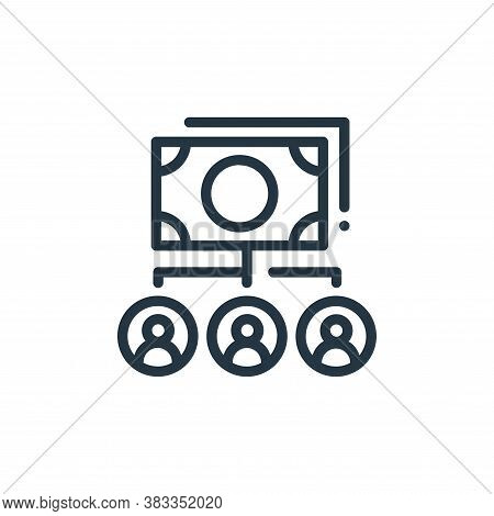 budget icon isolated on white background from finance and business collection. budget icon trendy an