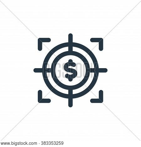 financial icon isolated on white background from investment collection. financial icon trendy and mo