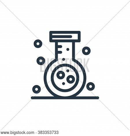 flask icon isolated on white background from medical collection. flask icon trendy and modern flask