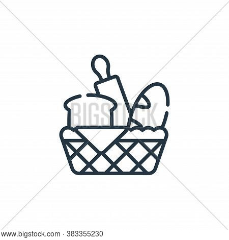 bakery icon isolated on white background from supermarket collection. bakery icon trendy and modern