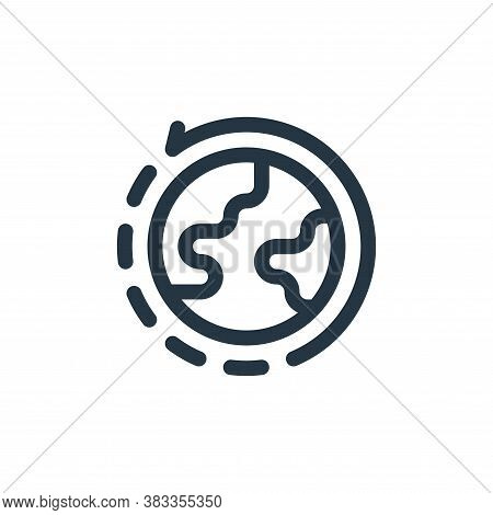 world icon isolated on white background from investment collection. world icon trendy and modern wor
