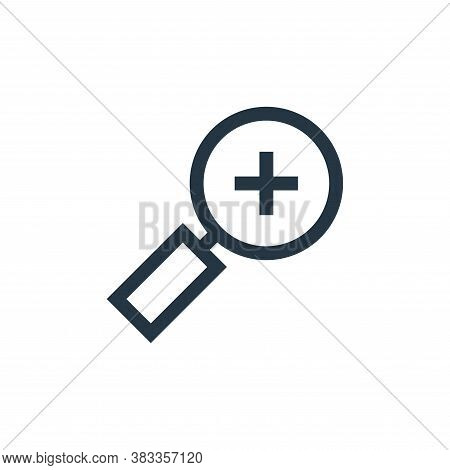 dislike icon isolated on white background from customer reviews collection. dislike icon trendy and