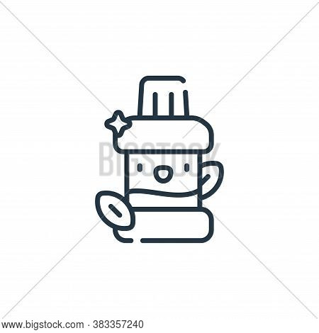 mouthwash icon isolated on white background from dentist collection. mouthwash icon trendy and moder