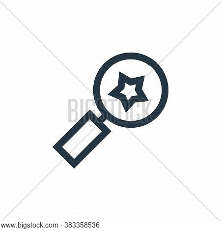 review icon isolated on white background from customer reviews collection. review icon trendy and mo