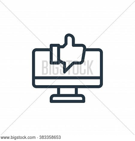 favourite icon isolated on white background from marketing seo business collection. favourite icon t