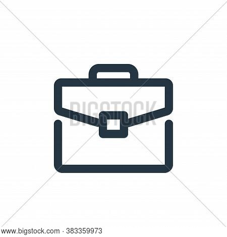 briefcase icon isolated on white background from business collection. briefcase icon trendy and mode