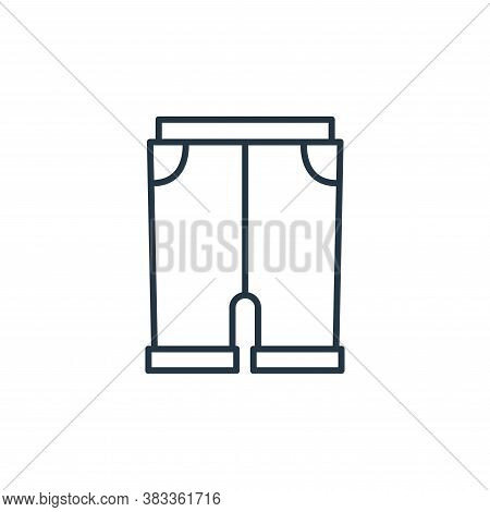 pants icon isolated on white background from fashion collection. pants icon trendy and modern pants