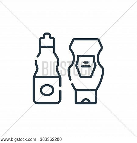 ketchup icon isolated on white background from supermarket collection. ketchup icon trendy and moder